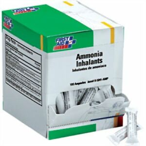 First Aid Only H5041 Ammonia Inhalant Ampoules 100 box