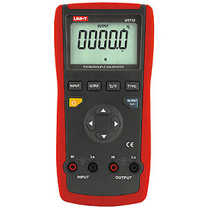 Ut713 Thermocouple Calibrator