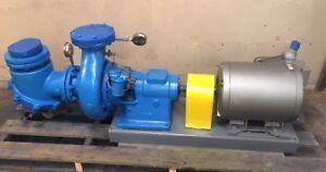 Taco 40 Hp 8 X 8 855 Gpm 100 Ft Centrifugal Water Pump Bb6012 10 7 D1 Lincoln