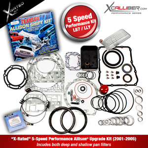 29545311 X Performance Rebuild Kit For Allison Transmissions Gm Duramax 5 Spd