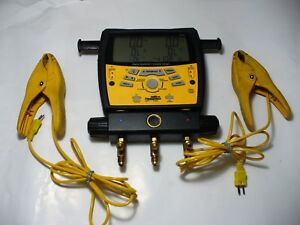 Fieldpiece Sman3 Digital Manifold With 3 Hoses And 2 Clamp