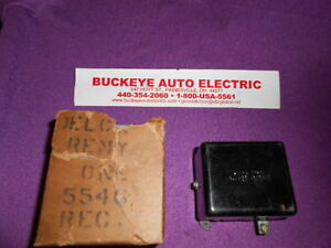 1934 1936 Chevrolet Regulator 5546 Fits Generator Numbers 935h 935p Nos
