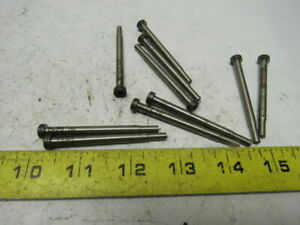 Dayton Kjx18 S250 P 156 Round Hole Press Fit Ejector Pin Die Punch Lot Of 10