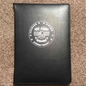 New Orlando Police Department opd Black Padfolio Organizer Hard To Get Swat