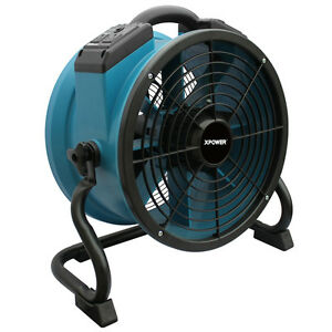 Xpower X 34ar 1720 Cfm Industrial Sealed Motor Axial Fan Air Mover W Outlets