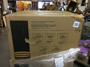 Rubbermaid Janitorial Cleaning Housekeeping High Capacity Cart 1861427 New
