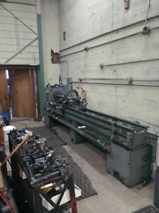 17 X 114 Cincinnati Tool Room Engine Lathe Complete With Lots Of Tooling