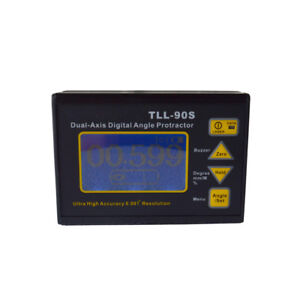 Angle Meter 0 005 Dual axis Digital Laser Inclinometer Protractor