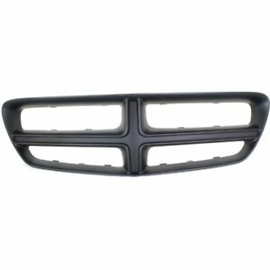 New Ch1210108 Front Plastic Grille Shell Black For 11 14 Dodge Charger 2011 2014