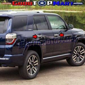 For Toyota 4runner 2010 11 12 13 14 15 16 17 18 Chrome 4 Door Handle Covers W o