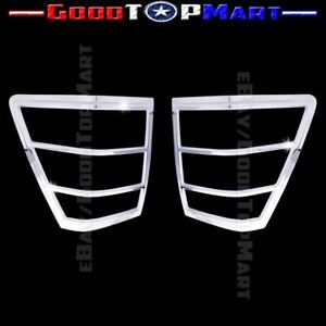 For Jeep Grand Cherokee 2005 2008 2009 2010 Chrome Tail Light Covers Pair Lights