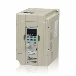 Lapond Vfd Drive Vfd Inverter Professional Variable Frequency Drive 1 5kw 2hp