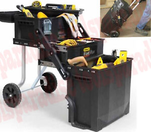 Portable Rolling Tool Box Chest Toolbox Storage Cabinet On Wheel Chest