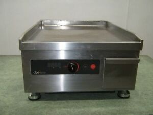 Dipo Stainless Steel 3500w Electric Induction Griddle Single Zone 18 Wide
