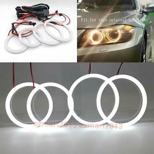 Cotton Led Halo Ring For M3 E90 E91 Lci With Hid Headlight 2006 12 Angel Eye Drl