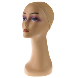 Female Mannequin Manikin Head Model Wig Glasses Hat Display Stander