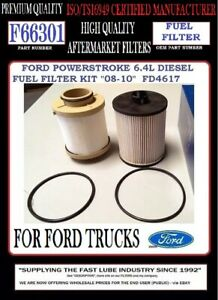 Lot Of 12 F66301 Fuel Filter Ford Powerstroke 6 4l V8 Diesel 2008 2010