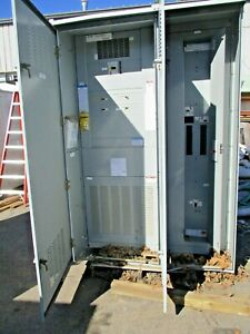 Cutler Hammer 400 Amp 480x120 208v Nema 3r Temporary Power Substation E741