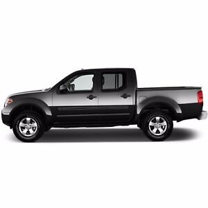 Body Side Moldings Painted With Black Trim Insert For Nissan Frontier 2005 2017