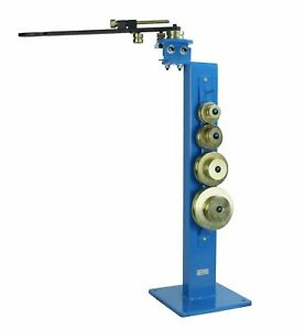 Floor Type 5 8 Manual Tube Bender With 10 Dies Bending Tube Up To 180 Degrees
