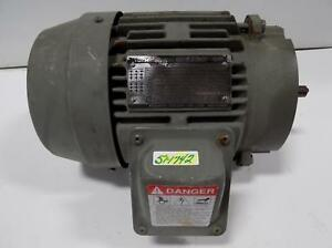 Toshiba High Efficiency 2hp 3 phase Induction Motor B0024flc2aoz