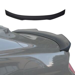 Close To Carbon Fiber Rear Window Roof Spoiler Wing Trim For 15 17 Ford Mustang