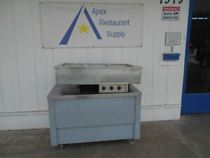 3 Well Drop In Steam Table 240 Volt 3 5 Amp 46 X 26 X 10 2621