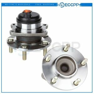 2 Rear Wheel Hub And Bearing Assembly Fits Town Country Grand Caravan W Abs