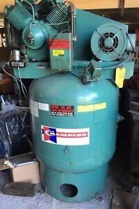 Champion Vrv7 8 3 Ph 208 230 460 Volt Vertical Air Compressor 7 5 Hp 80 Gal