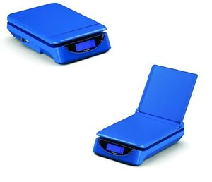 Brecknell Ps25 Electronic Parcel Shipping Scale 25 Lb X 0 2 Oz Pack Of 2 Blue
