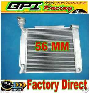 Custom Aluminum Radiator Mg Mga 1500 1600 1622 De Luxe Mt 1955 1962