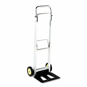 New Safco Stow away Lightweight Hand Truck 250lb Dolly Cart Warehouse No Tax
