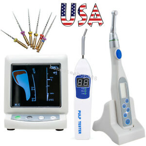 Color Lcd Dental Apex Locator root Canal Endo Motor Treatment 16 1 pulp Tester