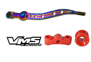 Neochrome Vms Racing Short Throw Shifter F R Polyurethane Bushings Honda Acura