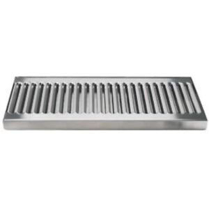 C606 Stainless Steel Drip Tray Surface No Drain 12 X 5 1 2 Mm Solid