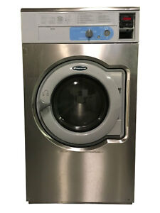 Wascomat W640 Front Load Opl Series Washer 208 240v 3ph W3180n03 Heavy Use 40lb