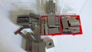 Machinist Rectangular Webber Gage Blocks Grade 2