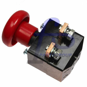 E stop Switch Ed250b 1 Zjk 250 250a For Albright Electric Stacker Forklift