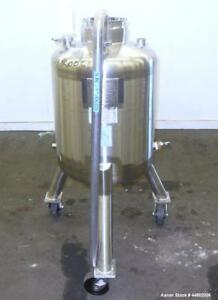 Used Precision Stainless Pressure Tank 100 Liters 26 4 Gallons 316l Stainle