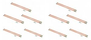 10 Pair Of 36 Universal Snow Plow Blade Marker Guides For Buyers Sam 1308110