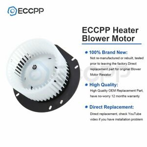Heater Blower Motor With W Fan Cage For 2004 2010 Chevrolet Aveo Abs Plastic