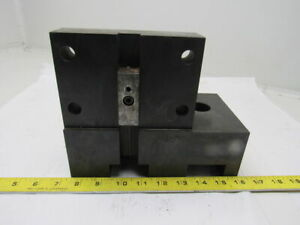 50mm Duplex Double Square Shank Tool Holder Cnc Turret Tool Holder Block