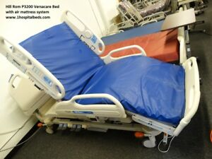 Hill Rom P3200 Versacare Hospital Bed With Air Mattress System And Scale