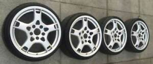 19 Oem Porsche Wheels Tires Lobster 911 996 Boxster Cayman 2012 19 Germany