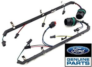 08 10 New 6 4l Ford Powerstroke Oem Injector Harness Kit Right Left 3387 88
