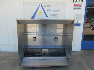 60 5ft Commercial Captiveaire Vent Hood Restaurant Exhaust Hood System 2647