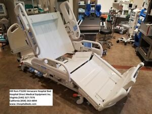 Hill Rom P3200 Versacare Hospital Bed With New Foam Mattress