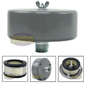 1 Mnpt Complete Intake Filter Housing W Element For Air Compressor Usa Made
