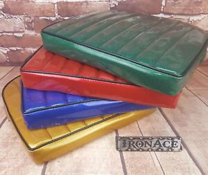 Iron Ace Bomber Seat Cushion Old School Metal Flake