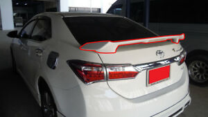 Rear Spoiler With Led Light For Toyota Corolla Altis 2014 2019